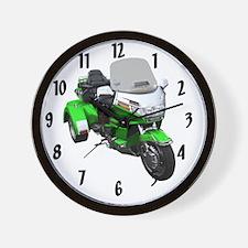 AB08 C-CLOCK LRG GREEN Wall Clock