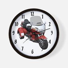 AB08 C-CLOCK LRG RED Wall Clock