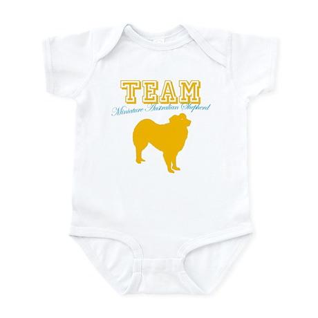 Miniature Australian Shepherd Infant Bodysuit