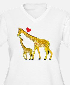 giraffe and baby  T-Shirt