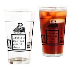 imperialismsbw Drinking Glass