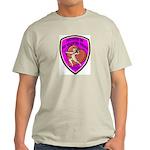 The Valentine Police Ash Grey T-Shirt