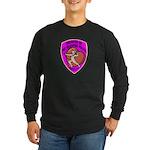 The Valentine Police Long Sleeve Dark T-Shirt