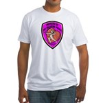 The Valentine Police Fitted T-Shirt