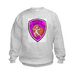 The Valentine Police Kids Sweatshirt