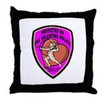 The Valentine Police Throw Pillow