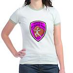 The Valentine Police Jr. Ringer T-Shirt