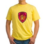The Valentine Police Yellow T-Shirt