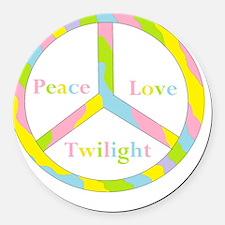 aaaaapeactwilightpeacehuge Round Car Magnet