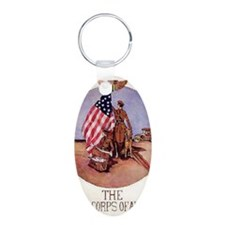 The Motor Corps of America Keychains