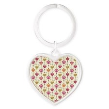 Colorful Hearts Keychains