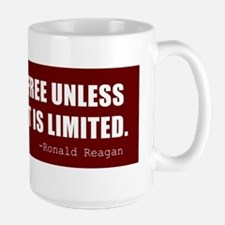 Reagan-Quote-(limited-govt)-Red Mug