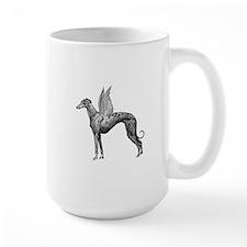 Pegasus Greyhound Ceramic Mugs