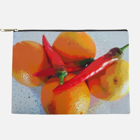 Orange and paprika Makeup Pouch