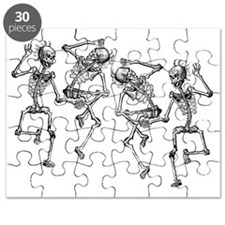 skeletons dancing Puzzle