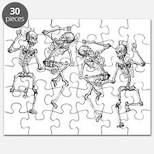 skeletons dancing Puzzle