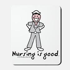 Nurse_-_nursing_is_good Mousepad