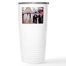 18-MK-Paris Street Scene -  mou Travel Mug
