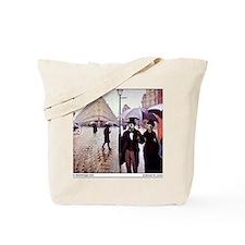 18-MK-Paris Street Scene -  mousepad Tote Bag