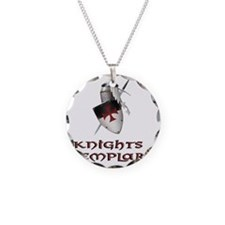 KNIGHTS TEMPLAr copy Necklace Circle Charm