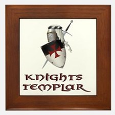 KNIGHTS TEMPLAr copy Framed Tile