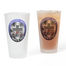 CRISTIAN BIKER 3 Drinking Glass