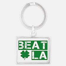 2-beat la Landscape Keychain