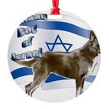 Canaan dog of Israel Ornament