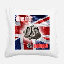 3-driveshaft unplugged Square Canvas Pillow