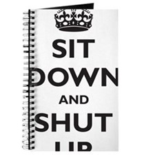 sit-down-and-shut-up Journal