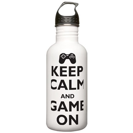 game-on Stainless Water Bottle 1.0L