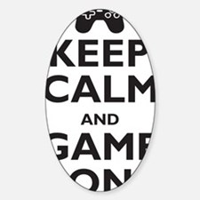 game-on Sticker (Oval)