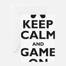 game-on Greeting Card