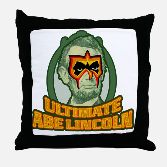 Ultimate Abe Lincoln Throw Pillow