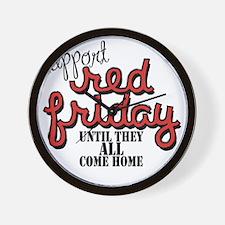 redfriday2 Wall Clock