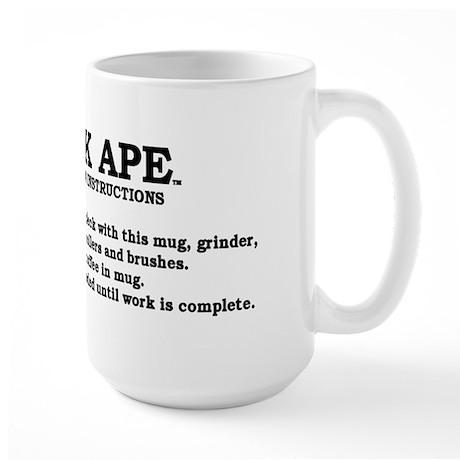Deck Ape Large Mug