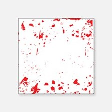 "zombie-outbreak-team-2 Square Sticker 3"" x 3"""