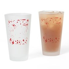 zombie-outbreak-team-2 Drinking Glass