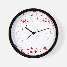 zombie-outbreak-team-2 Wall Clock