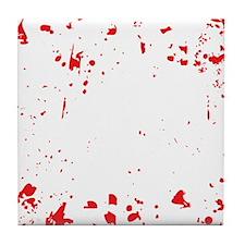 zombie-outbreak-team-2 Tile Coaster
