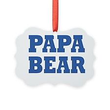 PAPA BEAR Ornament