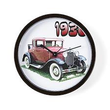 FordAcpe-10 Wall Clock