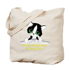 studynowcattrans Tote Bag