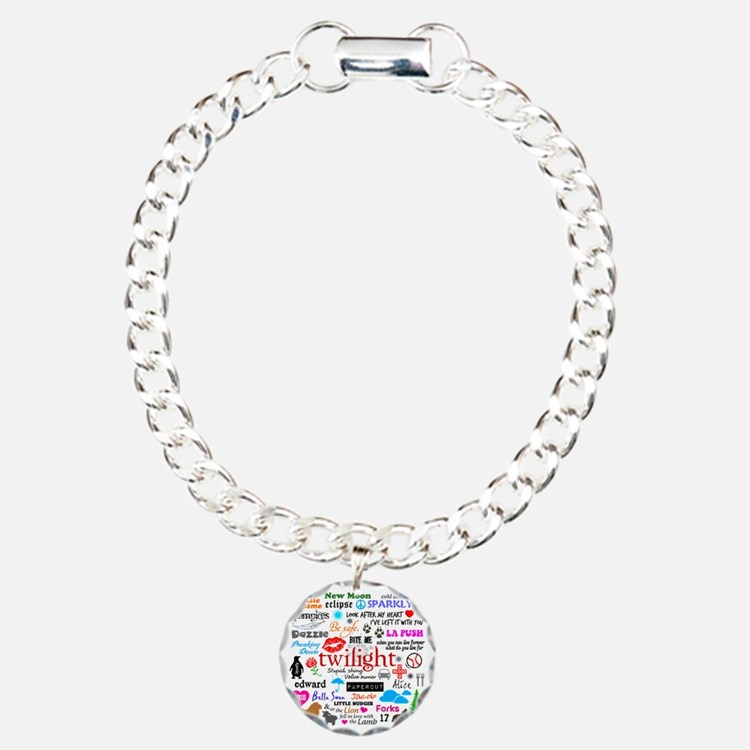 Twilight Memories Charm Bracelet, One Charm