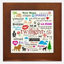 Twilight Memories Framed Tile