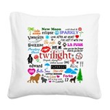 Twilight Square Canvas Pillows