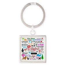 Twilight Memories Square Keychain