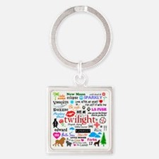 Twilight Memories Square Keychain