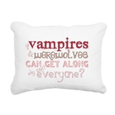 2-vampsweresblack Rectangular Canvas Pillow