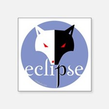 "eclipse 2 sided violet copy Square Sticker 3"" x 3"""